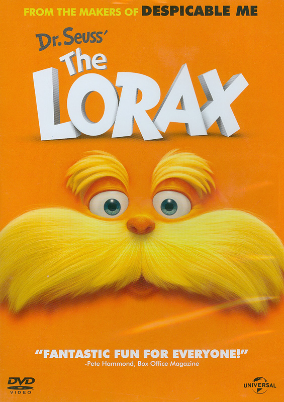 Lorax[videorecording] /Universal Pictures,Illumination Entertainment ; directors, Chris Renaud, KyleBalda.||Dr. Seuss the Lorax|คุณปู่โรแลกซ์ มหัศจรรย์ป่าสีรุ้ง