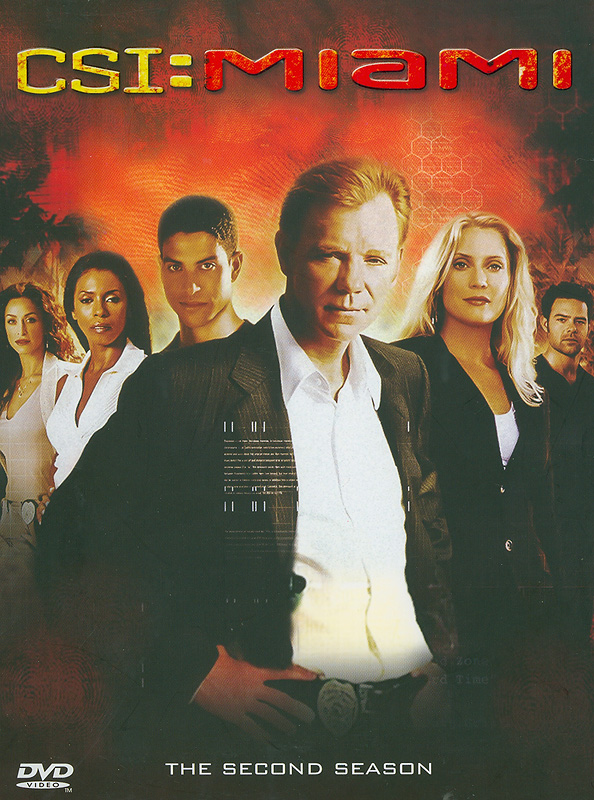 CSI: Miami. The complete second season[videorecording]/Jerry Bruckheimer Television ; Alliance Atlantis ; CBSProductions.||Crime Scene Investigation, Miami|CSI: Miami.Season two|CSI, Miami (Television program)|ไขคดีปริศนาไมอามี่ ปี 2