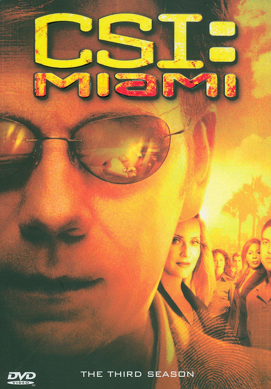 CSI: Miami.The complete third season[videorecording] /CBS Productions ; Alliance Atlantis ; Jerry BruckheimerTelevision.||Crime scene investigation, Miami|CSI: Miami.Season three|CSI, Miami (Television program)|ไขคดีปริศนาไมอามี่ ปี 3