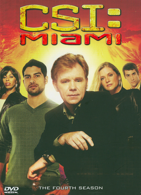 CSI: Miami.The complete fourth season[videorecording]/CBS Productions ; Alliance Atlantis ; Jerry BruckheimerTelevision.||CSI: Crime scene investigation, Miami|CSI: Miami.Season four|CSI, Miami (Television program)|ไขคดีปริศนาไมอามี่ ปี 4