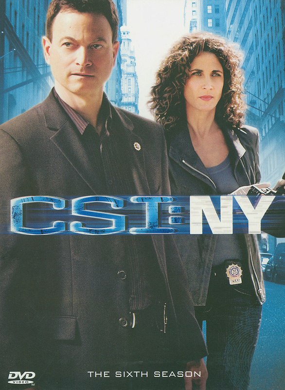 CSI: NY.The sixth season[videorecording] /CBSBroadcasting, Inc. and Entertainment AB Funding, LLC. ;Jerry Bruckheimer Television ; CBS Paramount Television.||Crime scene investigation: New York|CSI: New York.Season six|CSI, NY. (Television program)|ไขคดีปริศนานิวยอร์ค ปี 6