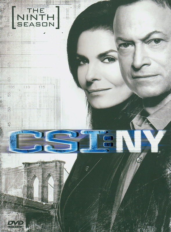 CSI: NY.The complete ninth season[videorecording] /CBSBroadcasting, Inc. and Entertainment AB Funding, LLC. ;Jerry Bruckheimer Television ; CBS Paramount Television.||Crime scene investigation: New York|CSI: New York.Season nine|CSI, NY. (Television program)|ไขคดีปริศนานิวยอร์ค ปี 9