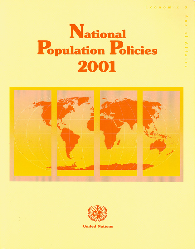 National population policies 2001 /Department of Economic and Social Affairs, Population Division