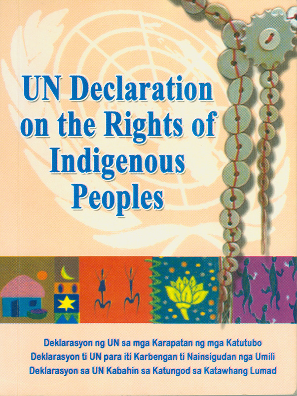 United Nations declaration on the rights of indigenous peoples||UN declaration on the rights of indigenous peoples