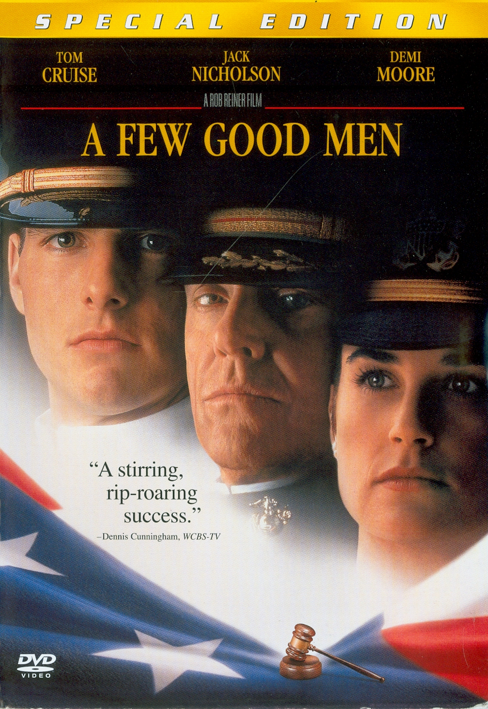 few good men[videorecording] /a Columbia Pictures and Castle Rock Entertainment presentation ; screenplay by Aaron Sorkin ; produced by David Brown, Rob Reiner, Andrew Scheinman ; directed by Rob Reiner||เทพบุตรเกียรติยศ