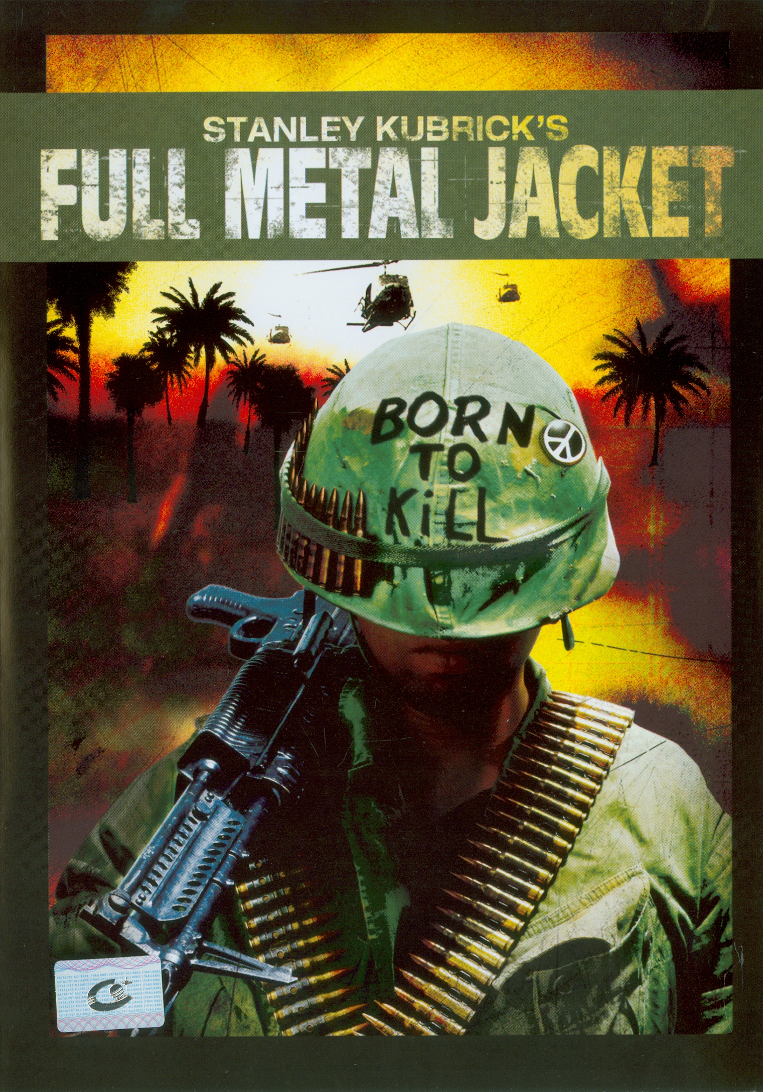 Full metal jacket [videorecording] /Warner Bros.,presents ; produced and directed by Stanley Kubrick||เกิดเพื่อฆ่า
