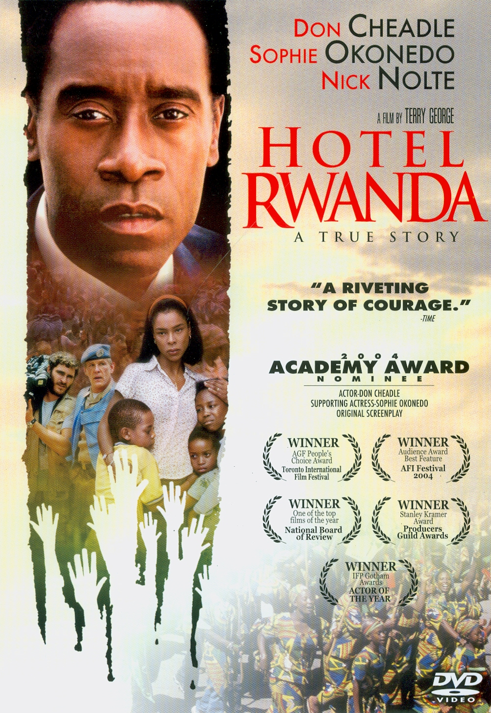Hotel Rwanda[videorecording] /United Artists presents, in association with Lions Gate Entertainment a South Africa/United Kingdom/Italy co-production||รวันดา ความหวังไม่สูญสิ้น