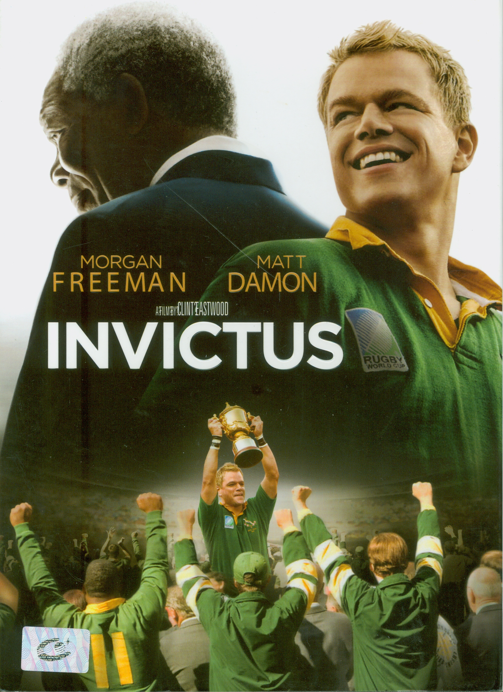 Invictus[videorecording] /Warner Bros. Picture spresents ; in association with Spyglass Entertainment ; a Revelations Entertainment/Man Company production ; a Malpaso production ; screenplay by Anthony Peckham ; produced by Lori McCreary, Robert Lorenz, Mace Neufeld ; directed and produced by Clint Eastwood
