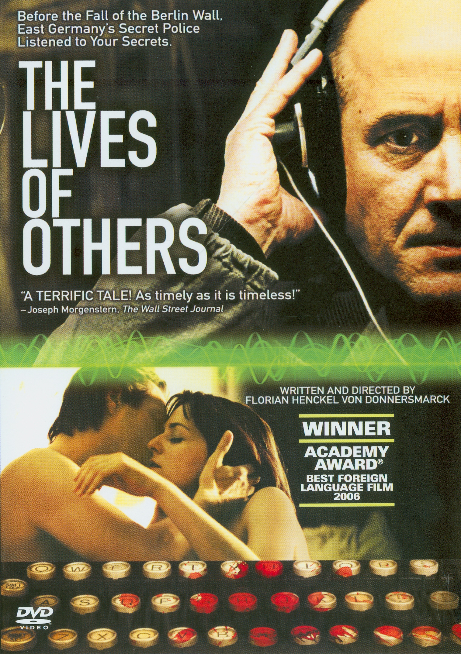 Lives of others[videorecording] /eine film von Florian Henckel von Donnersmarck ; eine Wiedemann & Berg Film produktion ; imVerleih der Buena Vista International ; in Coproduktionmit Bayerischer Rundfunk, Arte, Creado Film ; Coproduzenten, Dirk Hamm, Florian Henckel von Donnersmarck; Produzenten, Quirin Berg, Max Wiedemann ; Buch und Regie,Florian Henckel von Donnersmarck