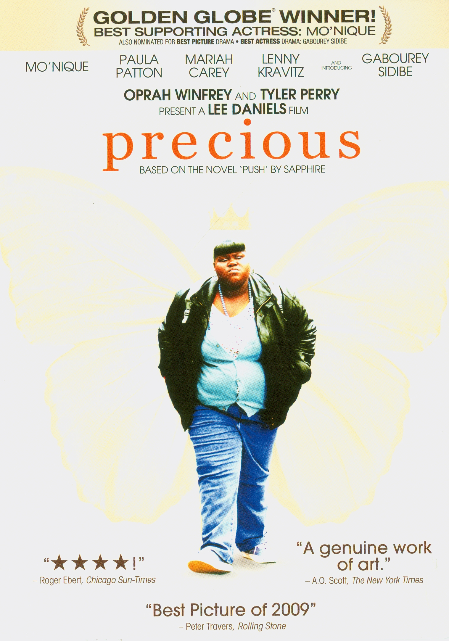 Precious[videorecording] /Lionsgate in association with Oprah Winfrey and Tyler Perry present a Lee Daniels Entertainment/Smokewood Entertainment Group production ; produced by Lee Daniels, Gary Magness, Sarah Siegel-Magness ; screenplay by Geoffrey Fletcher ; directed by Lee Daniels||Precious : Based on the novel