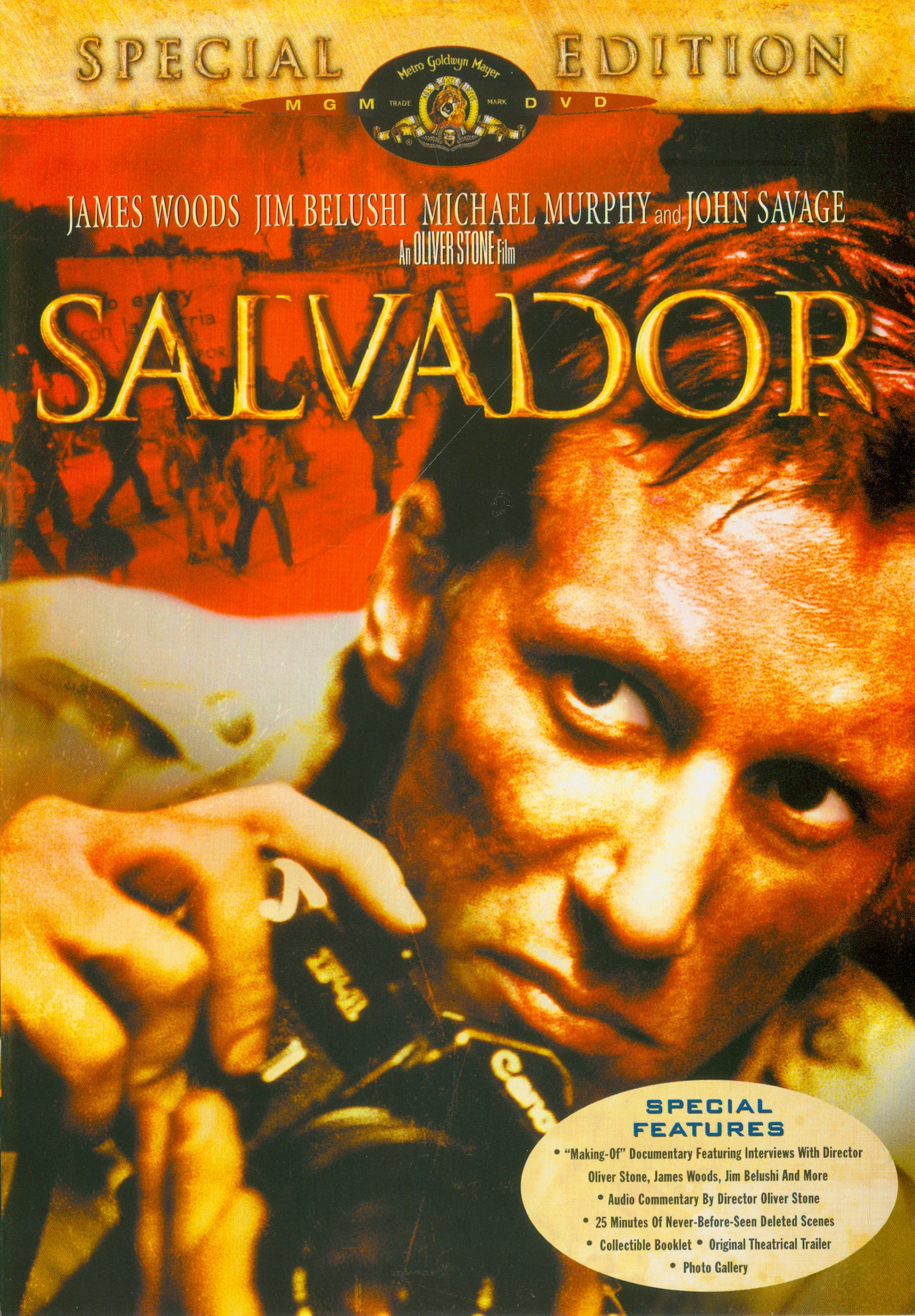 Salvador[videorecording] /Metro Goldwyn Mayer ; an Oliver Stone film: directed by Oliver Stone