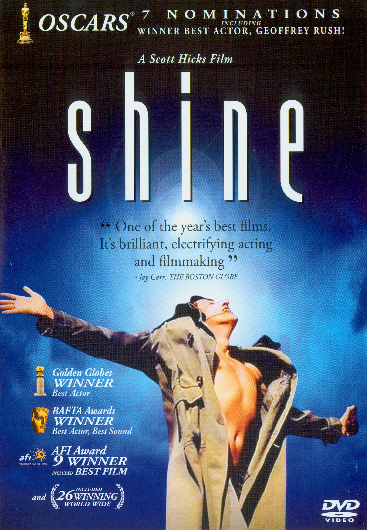 Shine[videorecording] /Fine Line Features presents a Momentum Films production ; story by Scott Hicks ;screenplay by Jan Sardi ; produced by Jane Scott ;directed by Scott Hicks