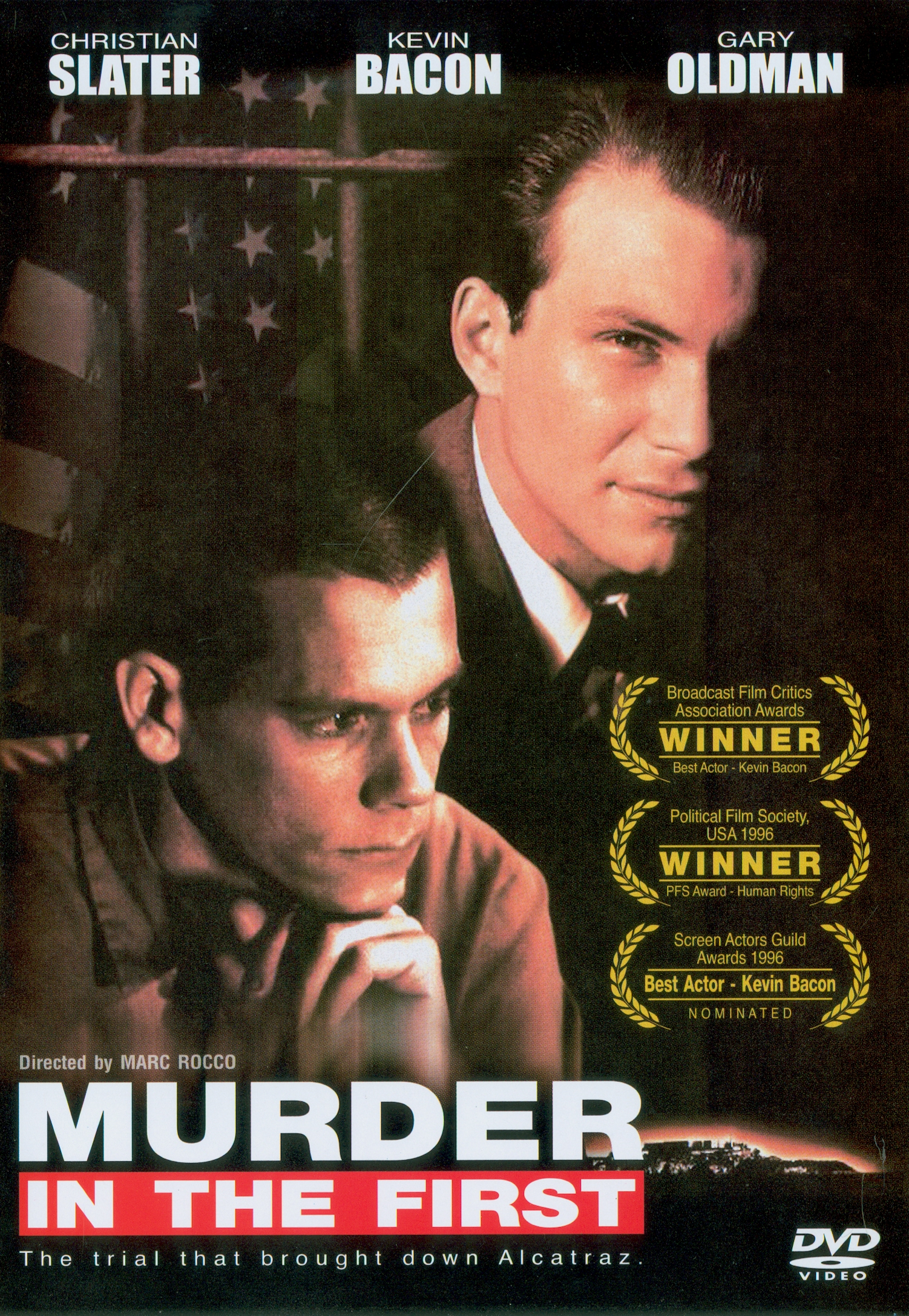 Murder in the first[videorecording] /Warner Bros.presents a Le Studio Canal+ production in association with The Wolper Organization