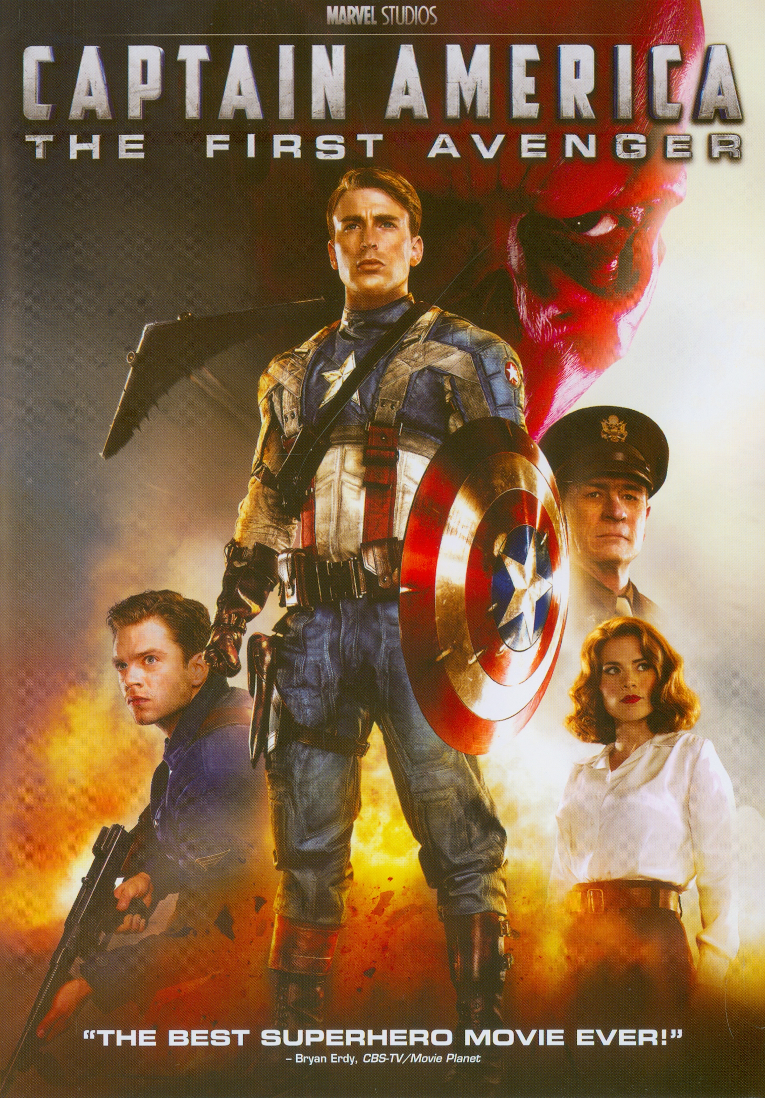 Captain America :the first avenger[videorecording] /Paramount Pictures and Marvel Entertainment present ; a Marvel Studios production ; a film by Joe Johnston ; produced by Kevin Feige ; screenplay by Christopher Markus & Stephen McFeely ; directed by Joe Johnston