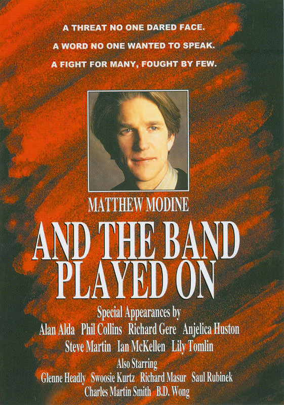 And the band played on[videorecording] /HBO Film presents; screenplay by Arnold Schulman ; directed by Roger Spottiswoode