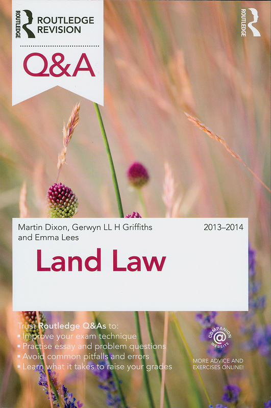 Land law /Martin J. Dixon