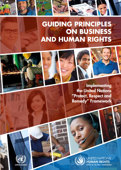 ing principles on business and human rights :implementing the United Nations