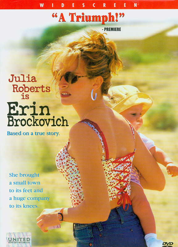 Erin Brockovich[videorecording] /Universal Picturesand Columbia Pictures present a Jersey Films production ;produced by Danny DeVito, Michael Shamberg, Stacey Sher ;written by Susannah Grant ; directed by Steven Soderbergh